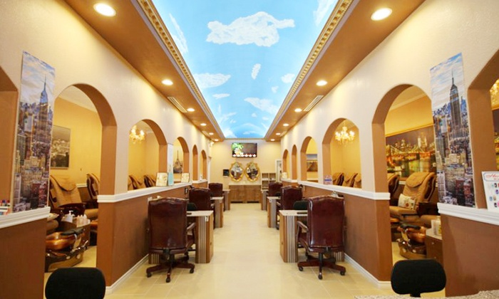 Prada Nails Spa Manicure With Optional Pedicure Or Face Wax At