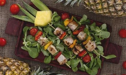 Menu di pesce da 4 portate con calice di Prosecco per 2 o 4 persone al ristorante Degusto (sconto fino a 56%)