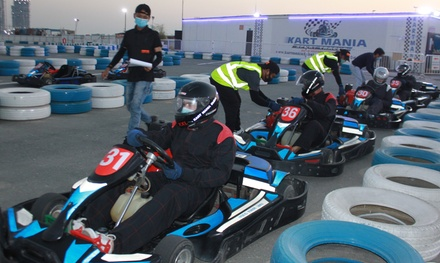 15  or 30 Minute Karting Experience at Kart Mania Dubai (Up to 40% Off)