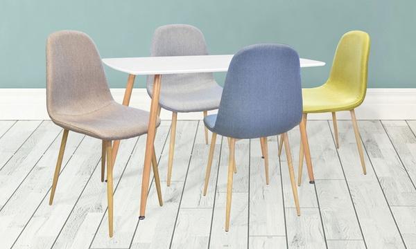 ensemble table et ou chaises scandinaves