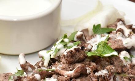 Menu libanese con bibita e dolce fino a 8 persone al ristorante il Cedro (sconto fino a 70%)