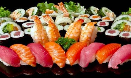Sushi box dasporto con 58 o 116 pezzi al ristorante Fu Sushi (sconto 59%)