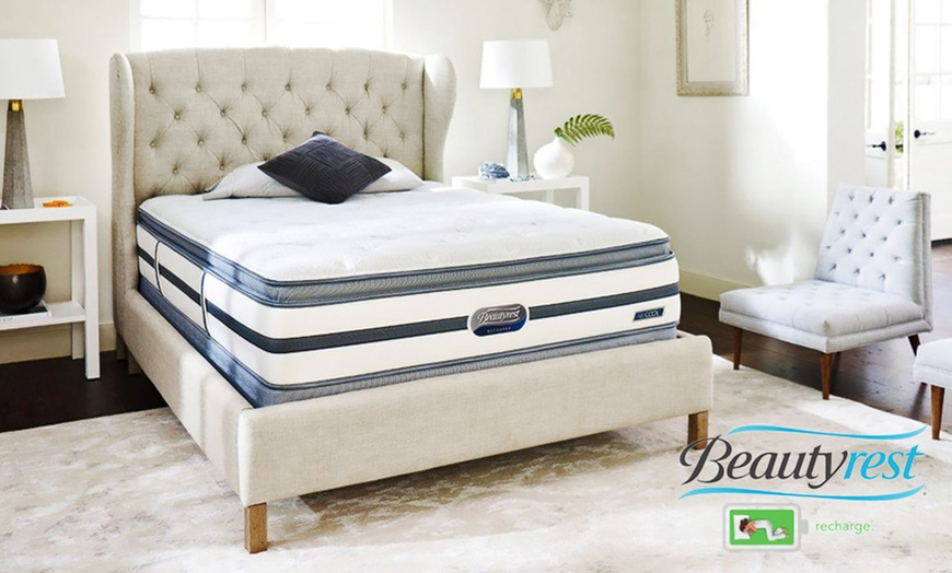 simmons beautyrest recharge st chapelle luxury firm pillow top mattress sets up to 65 off free white glove delivery