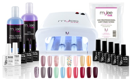Mylee 36W UV Lamp with Optional Gel Nail Essentials Kit