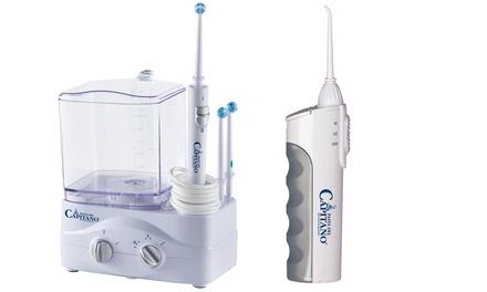 Idropulsore dentale Pasta del Capitano Innoliving disponibile in 2 modelli