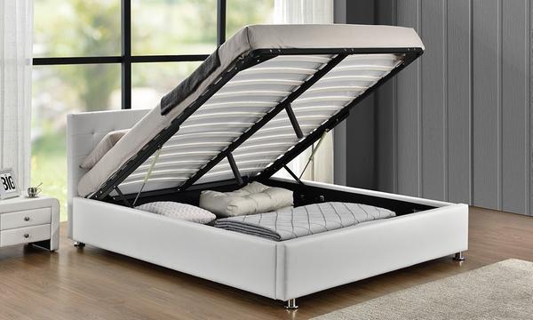 lit coffre taille et coloris au choix avec matelas en option des 299 90 jusqu a 62 de reduction