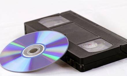 המרת 2 קלטות וידאו לפורמט DVD ב 49 ₪ בלבד. ניתן למימוש בסניפי פוטו שי בתא, בת ים וראשלצ