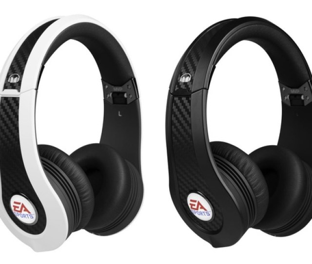 Monster Ea Sports Mvp Carbon On Ear Headphones With Microphone
