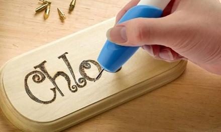 Incisore elettrico adatto a tutti i tipi di superfici come ferro, legno, vetro, plastica o ceramica