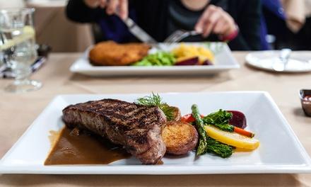 Menu con 1 o 2 kg di Fiorentina, antipasto, dolce e vino per 2 o 4 persone allOsteria Bar Michelangelo (sconto 58%)