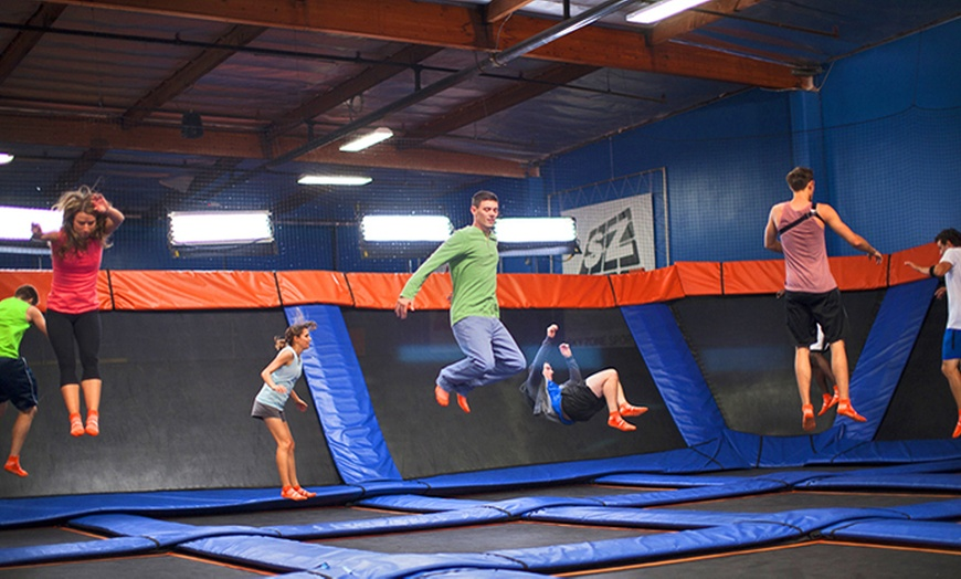 90 or 120 minute passes or a jump around birthday package at sky zone up to 37 off