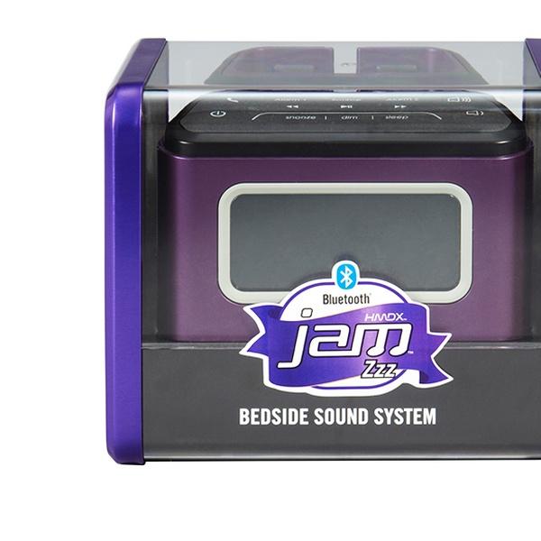 Hmdx Jam Zzz Bluetooth Alarm Clock With