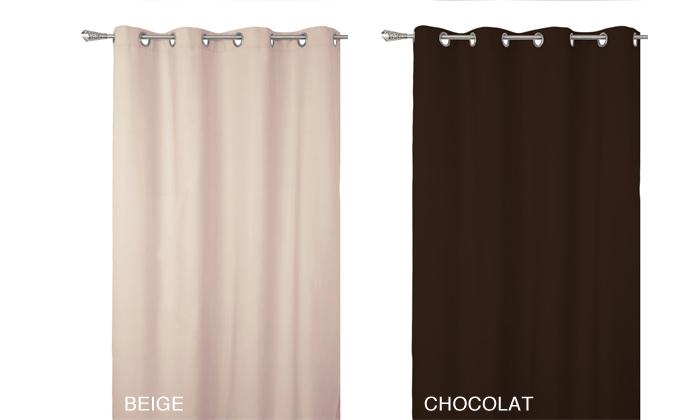 rideaux occultants 10 coloris disponibles des 19 90 livraison offerte jusqu a 75 de reduction