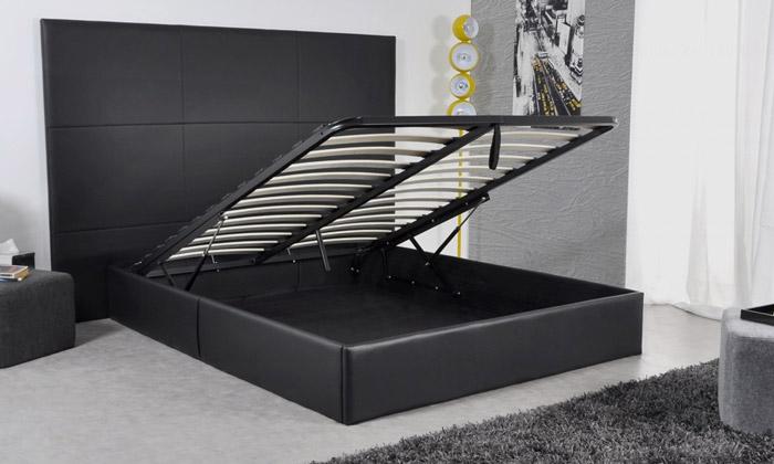 lit roma avec coffre au choix seul ou avec matelas memoire de forme des 349 90 livraison offerte jusqu a 51