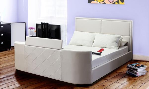 lit tv palace multimedia sampur au choix matelas en option des 599 90 livraison offerte jusqu a 68