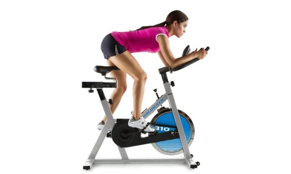 Golds Gym Cycle Trainer 310 Exercise Bike with 2 ...