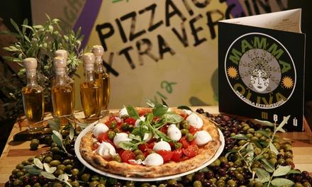 Mamma Oliva Vomero: menu con antipasto, pizza, dolce e birra per 2 persone (sconto44%)