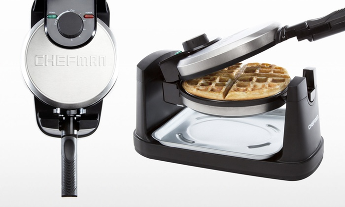 Chefman Rotating Waffle Maker Groupon Goods
