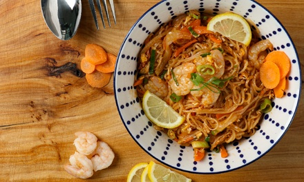 Up to AED 210 Toward Food and Drinks at Pad Thai, Three Locations (Up to 43% Off)