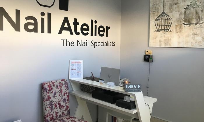 Nail Atelier Salon Dubai Standard Gel Or Evo2 Mani Pedi