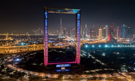 Half Day Old and New Dubai Tour plus ticket entry to Dubai Frame with Transfers (Up to 58% Off)