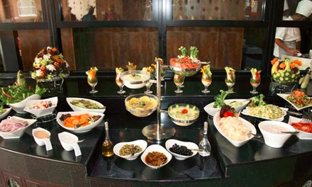 Weekend Pakistani Buffet Lunch or Dinner for Up to Four Adults at Lal Qila Restaurant