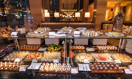 Iftar Buffet with Drinks for Up to Six at Bayside at 5* Pullman Dubai Downtown (Up to 23% Off*)