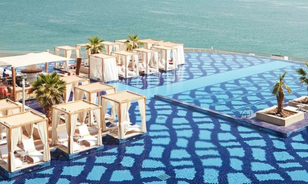 Friday Brunch with Choice of Beverages and Optional Pool Access for Up to Four at Mezze All Day Dining at 5* Royal M
