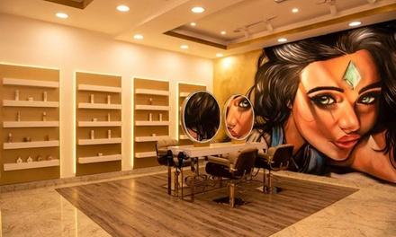 Choice of Hairstyling Package at Qasr Al Marasim Ladies Salon