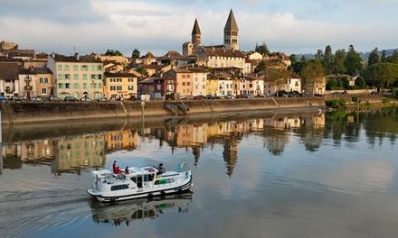 Vacanza in houseboat: 7 notti per 2   5 persone (21 porti in Europa tra cui scegliere)