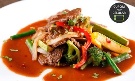 Comida tailandesa para 1, 2 ou 4 pessoas no Cantinho Thai – Icaraí
