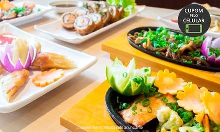 Rodízio japonês e sobremesa no Narumi Sushi – Alto da Lapa