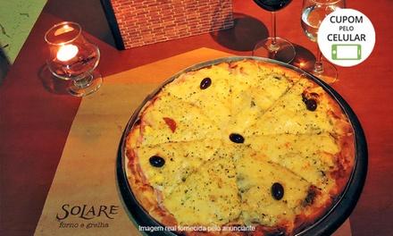 Solare Forno e Grelha – Vila Mascote: 1 ou 2 pizzas grandes para delivery ou retirada no local