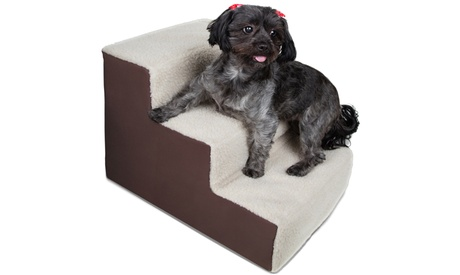 3-Step Lightweight Portable Pet Stairs