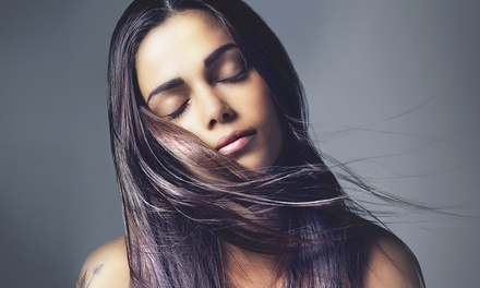 Hair styling con taglio, piega, colore o mèches e trattamento estetico da Mallia by Lisa (sconto fino a 76%)