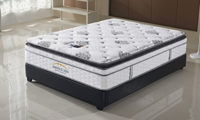 Groupon Goods Global Gmbh Emerald 3000 Pillow Top Mattress From 189 98 With Free