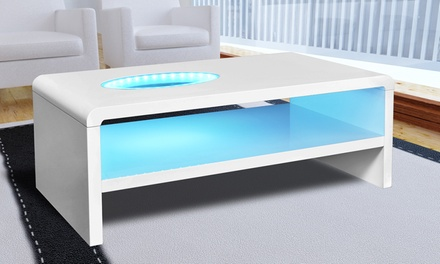table basse led modele chicago ou vegas des 169 90 jusqu a 42 de reduction