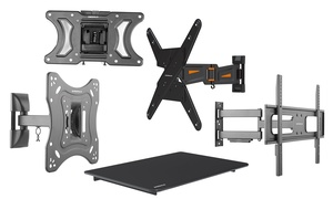 "image for Emerald Tilt, Fixed, or Full-Motion Wall Mounts for Most 10""–72"" TVs"