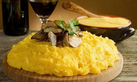Menu del territorio di 4 portate come Brasato con polenta o Stinco, dolce e vino allOsteria Michelangelo (sconto 66%)