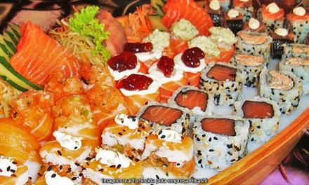 Hisashi Sushi – Pompeia: rodízio com frutos do mar para 2 ou 4 pessoas