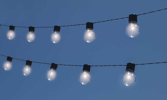 Home Depot Solar String Lights