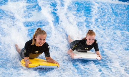Indoor Surfing Session for One or Two with Video on USB at Twinwoods Adventure (Up to 52% Off)