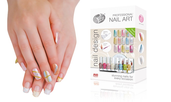 Rio Nail Artist Shimmer And Sparkle Art Ideas Beauty Starter Kit