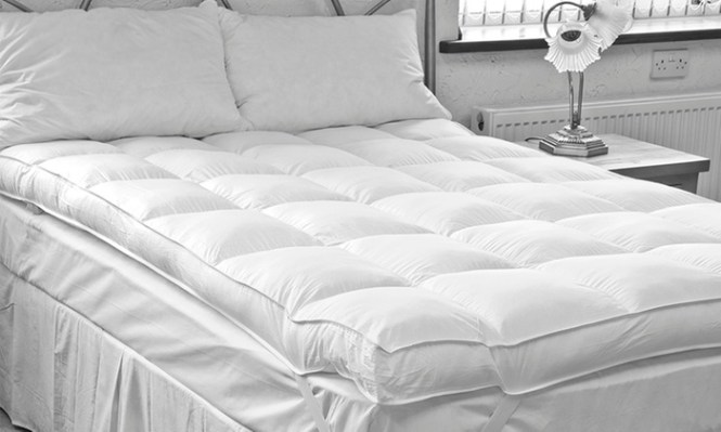 Groupon Goods Global Gmbh Duck Feather Mattress Topper From 29 99 Up To 73