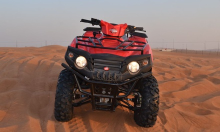 30  or 60 Minute of Quad Biking or Double 4x4 Experience for Up to Six at Al Maidan Motorcycles Rental (Up to 47% Off)