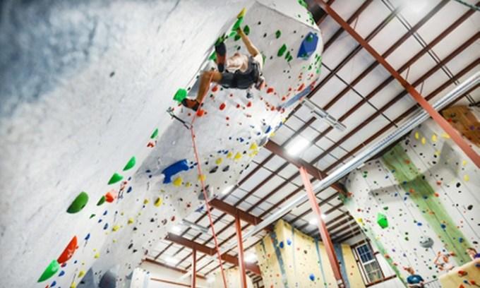 Up To 55 Off Indoor Rock Climbing