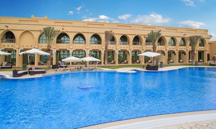 Madinat Zayed: 1 or 2 Nights for Two with Breakfast, Spa Treatment and Options for Lunch and Dinner at 4* Western Hotel