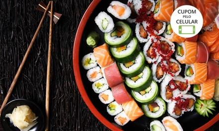 Rodízio para 1 ou 2  pessoas no Sushi Games – Osasco