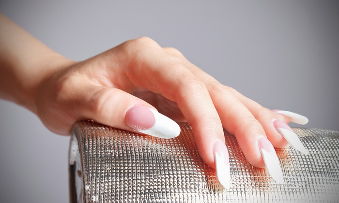 Pink Line Nail Spa Acrylic Or Gel Extension With One