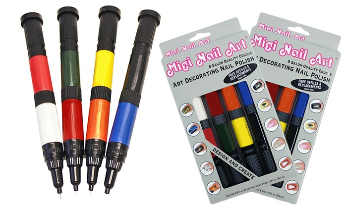 1 Get Free Migi Nail Art 8 Pack Of Pens
